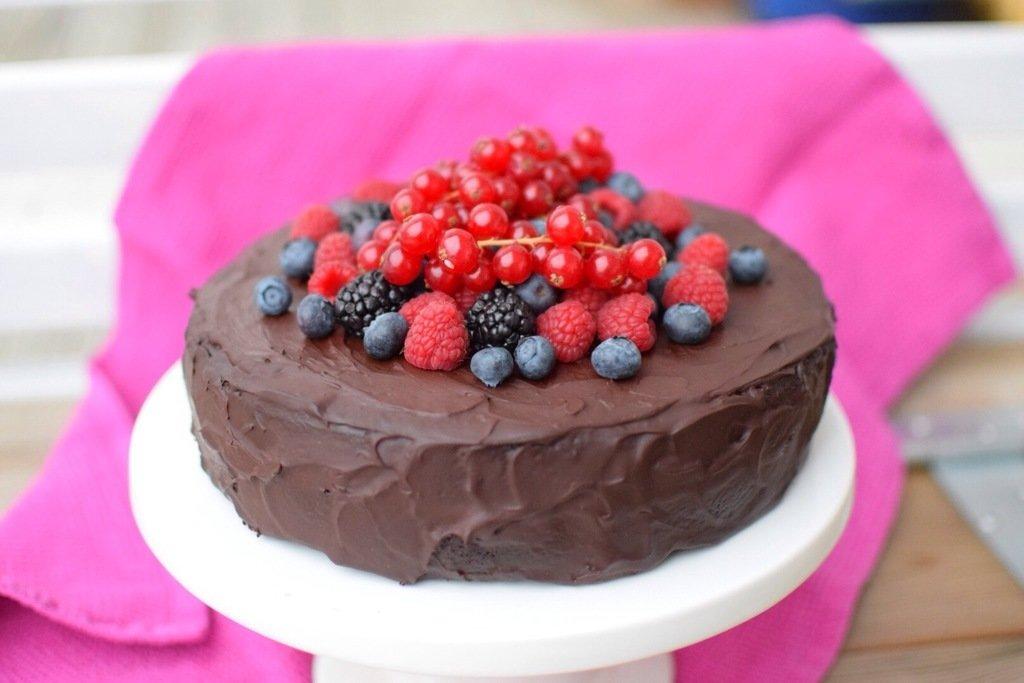 Chokladtårta paleo