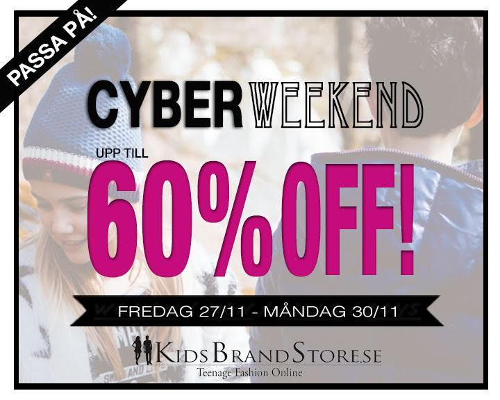 cyber weekend sverige