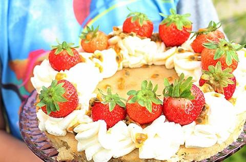 kladdkaka med passionsfrukt recept blogg