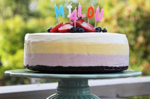 Älska att baka Sweet and simple recept glasstårta