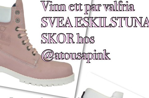 Atousa Pink blogg tävling Svea skor