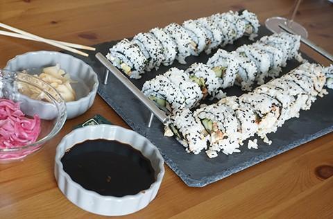 hemma gjord sushi recept