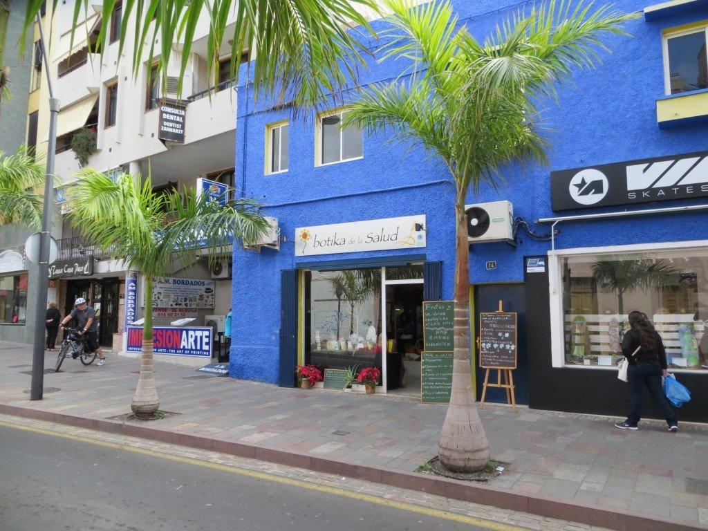 Hälsokostbutiken i Los Cristianos.