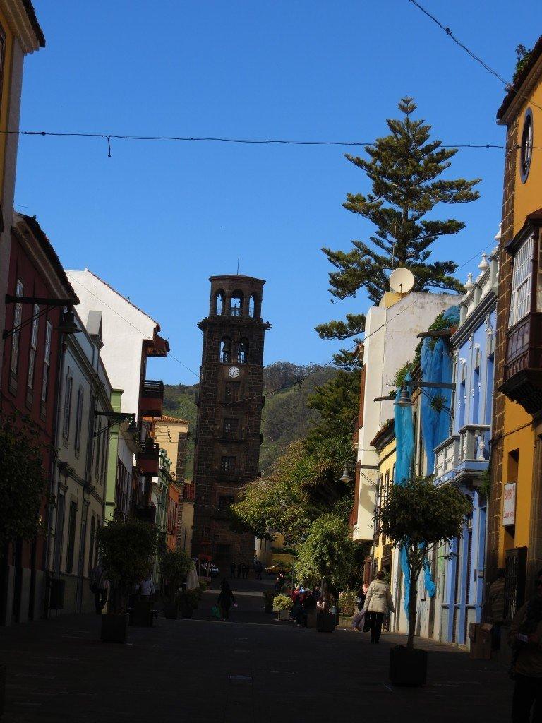 Fint gammalt torn i La Laguna.