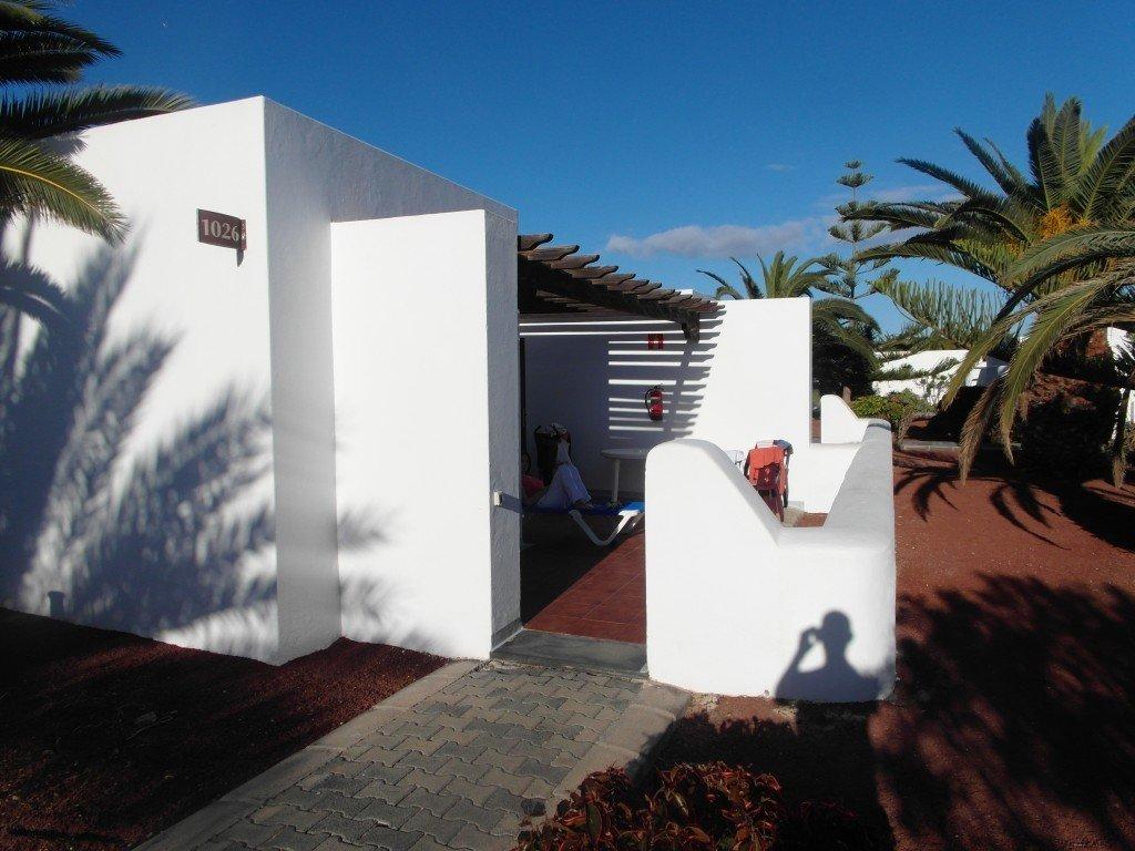 Vår bungalow.