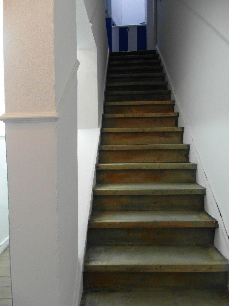 ...och ännu fler trappor.