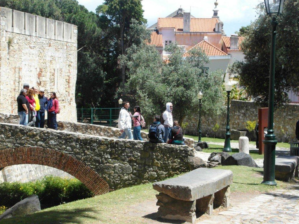 Castelo de Sao Jorge.