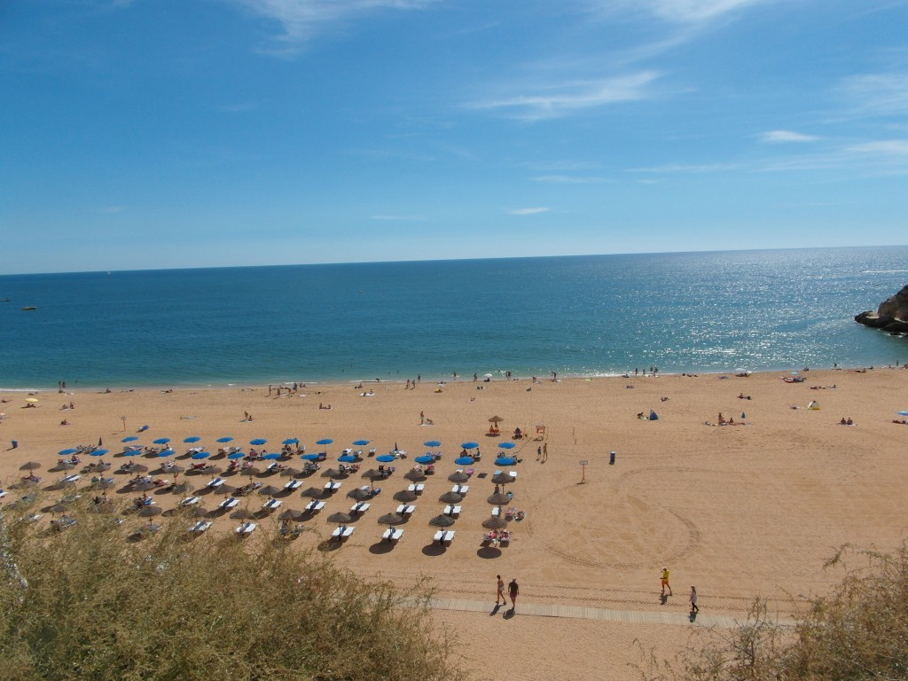 Den oändliga stranden.