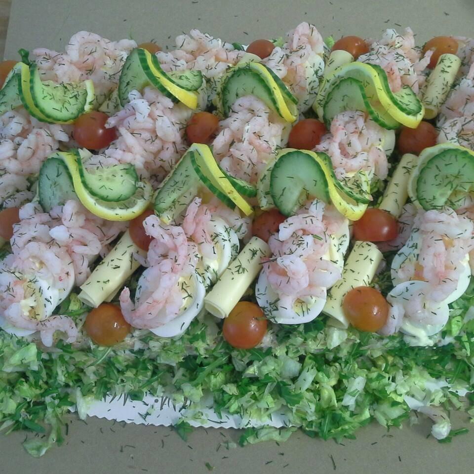 Smörgåstårta från Bak o Mat, vi kör lokalproducerat!