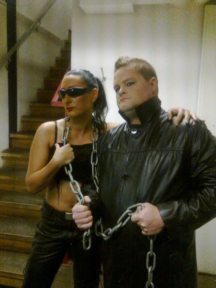 Alla har vi en liten Grey inom oss... Jag & kollega Dennis showdansar i Lund 2012!