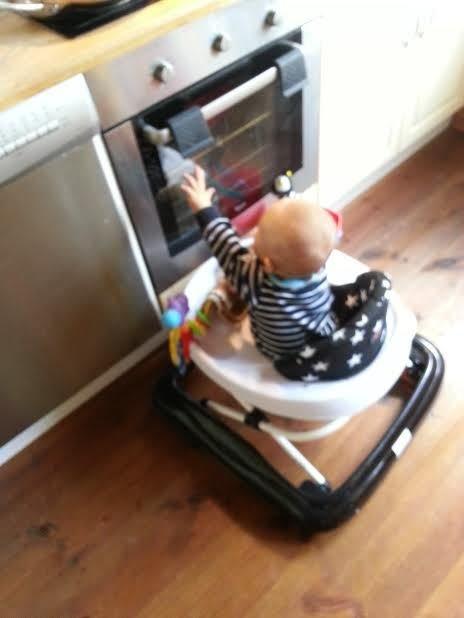 På utforskar-expedition i köket!