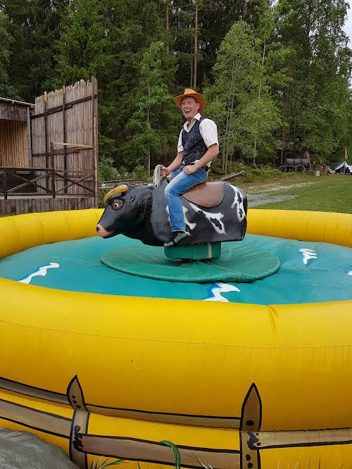 Cowboy-Klas i Vilda Västern.