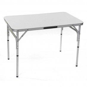 Campingbord - Aluminiumram (100 x 60 cm)