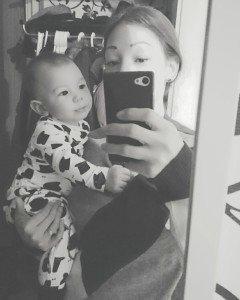 Min son blir 7 månader idag.