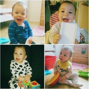 Anthony 8 månader idag den 27 januari.