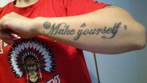 Make Yourself kommer ifrån Incubus låten som har samma titel.