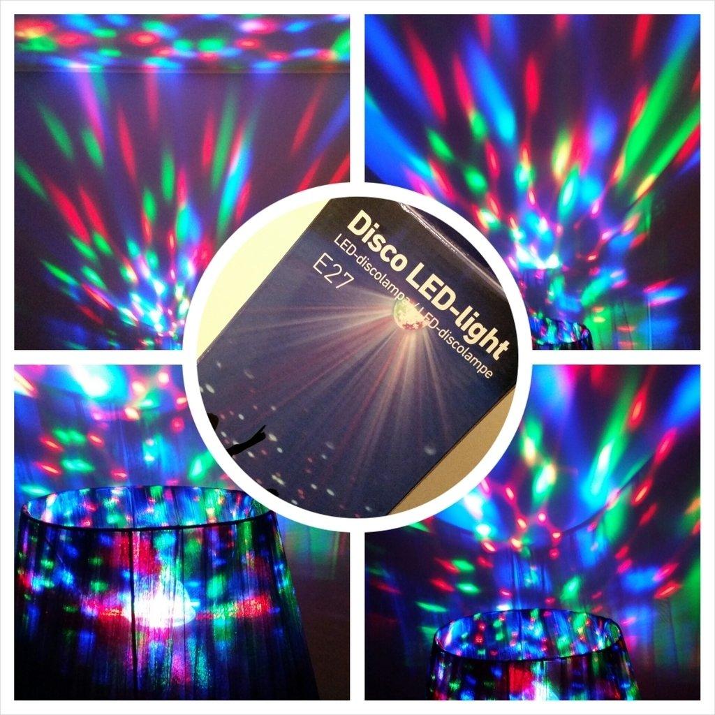 Omtyckta Disco-lampa LED från Rusta | Emma-Lou Pesonen XG-62