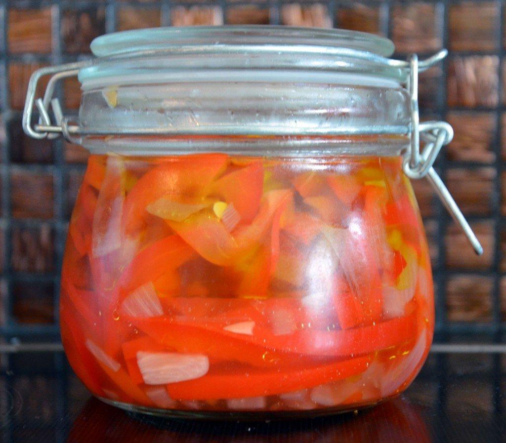 inlagd vitlök chili