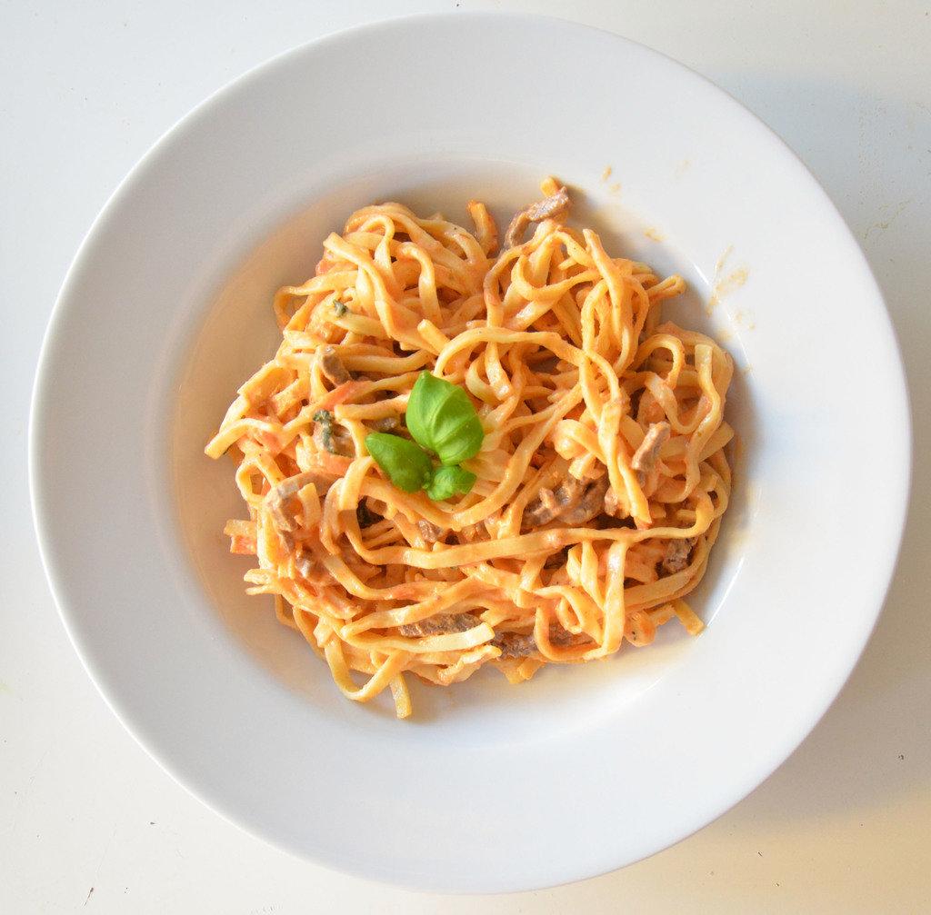 pastarättmedköttpårester