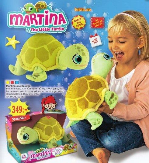 martina sköldpadda pris