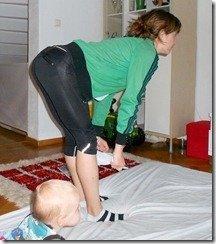 magen efter graviditeten