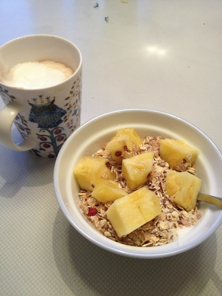frukost gravid