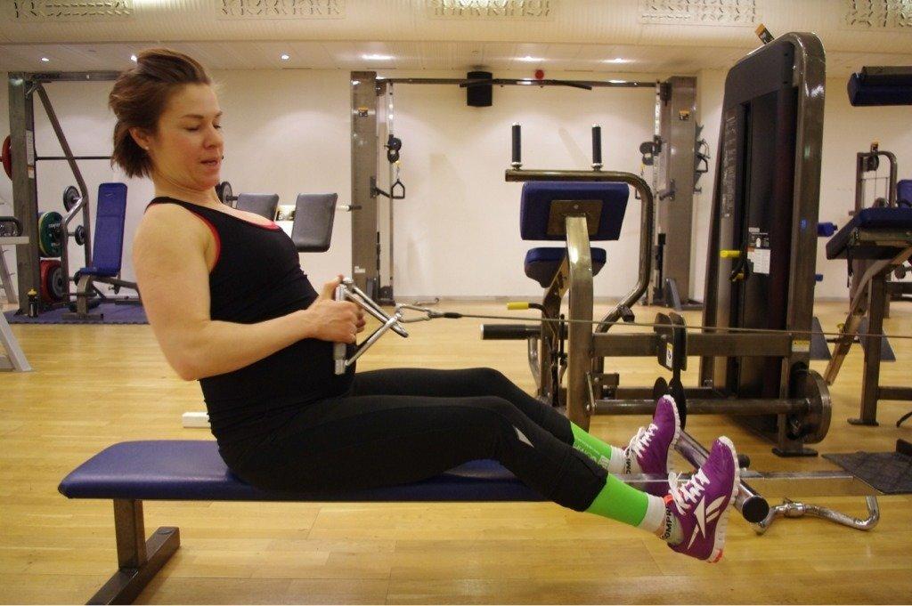 tredje trimestern träning