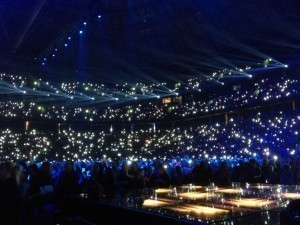 Ljus i arenan