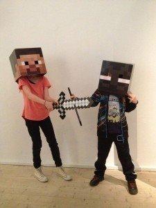 Minecraft Barnen