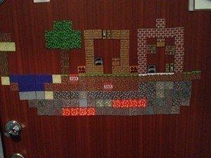 Minecraft ytterdörr