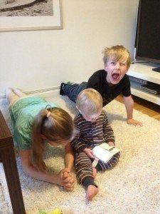 Plankan barnen