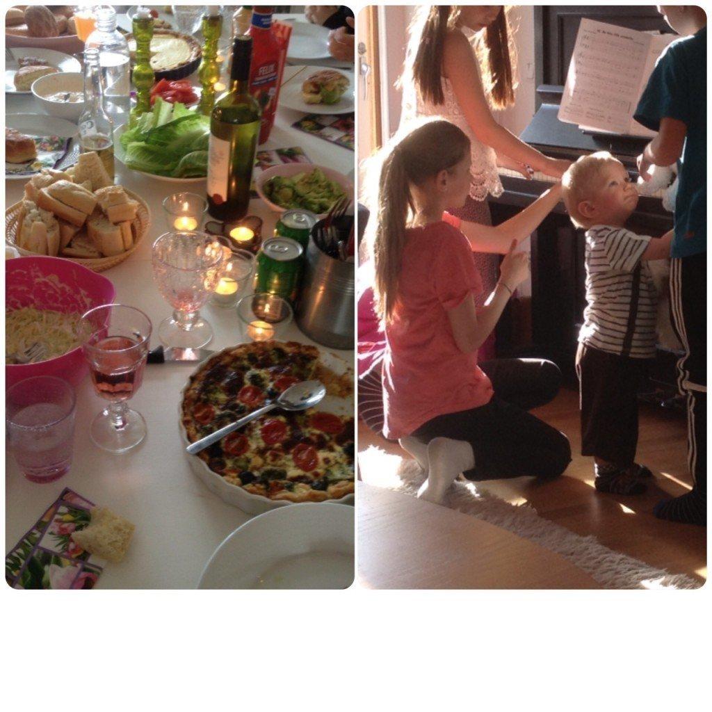 Valborgsfirande middag