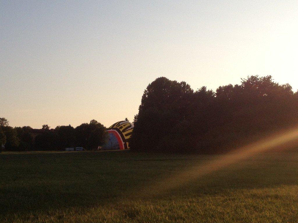 Nytorpsgärde, luftballong, Liveit