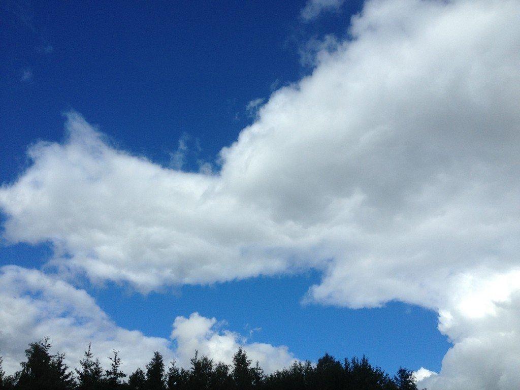 Moln, Sommar, Sverige, Formation, Himmel