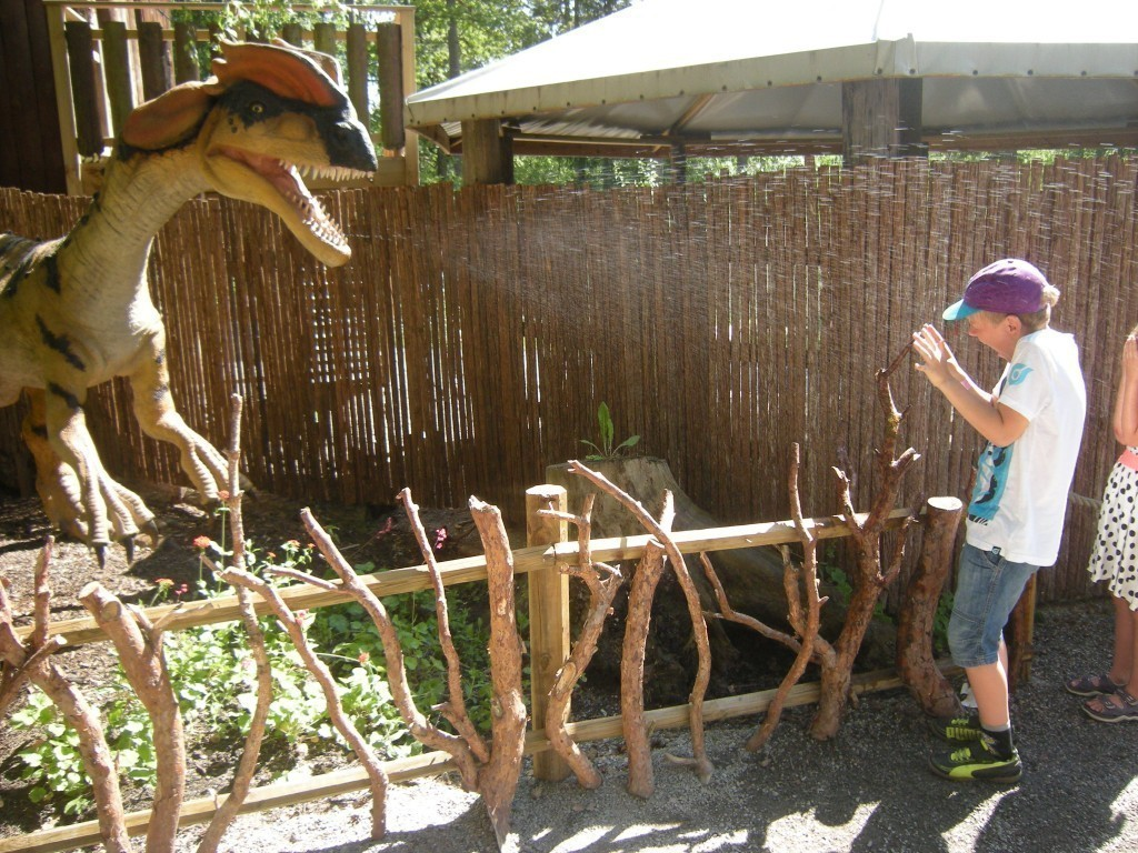 Dinosaurier, Parken Zoo