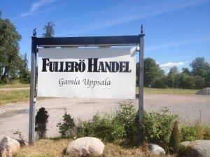 Fullerö Handel, Uppsala, Café, Inredning, Trädgård