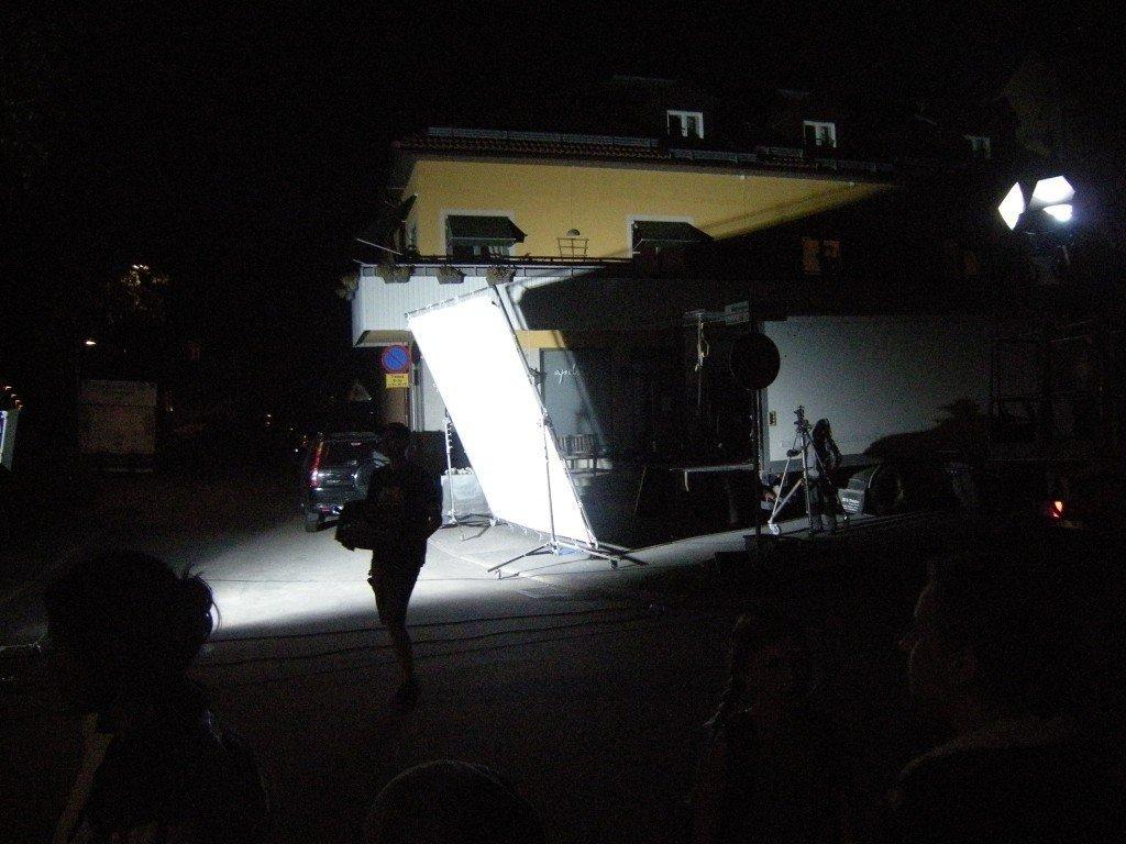 Filminspelning, Statist, Mammablogg, Långfilm