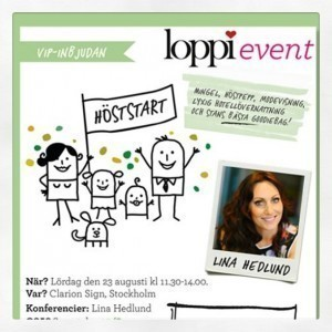 loppievent, VIP, Mammablogg, Clarion Sign