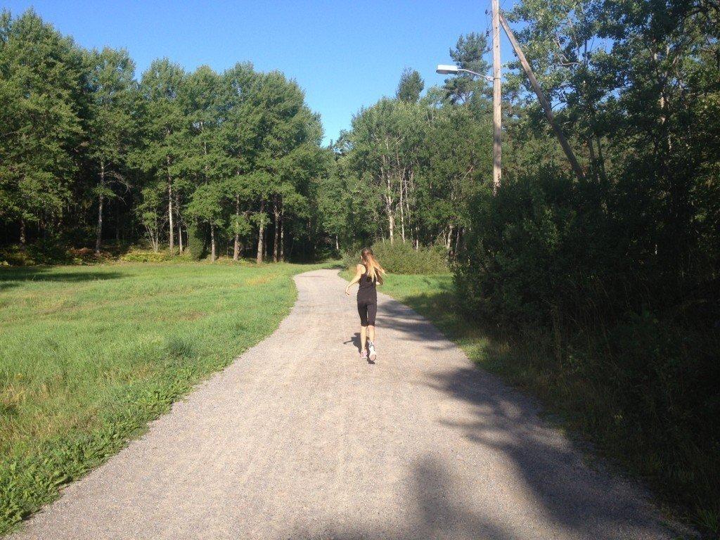 Mammablogg, Löpning, Träning