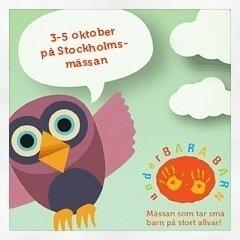 UnderBARA BARN, Stockholmsmässan, VIP, Mammabloggare, Underbarabarn