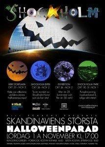 Shockholm, Halloweenparad, Stockholm