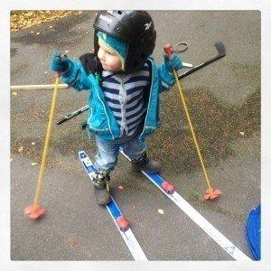 A skidor