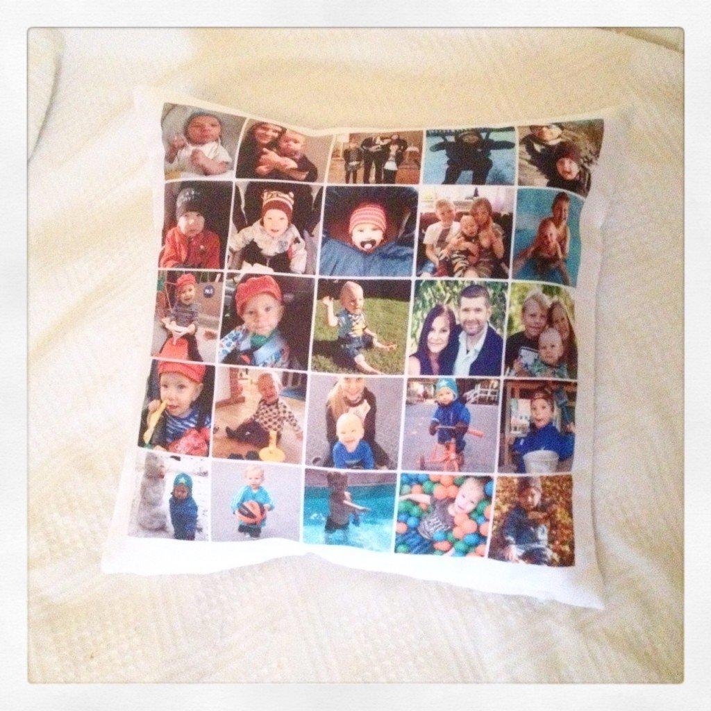 Smartphoto, Personlig present, Kudde, Present, Tips, Mammablogg, Familjeblogg, Fotohella