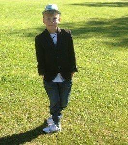 Alex 9 år