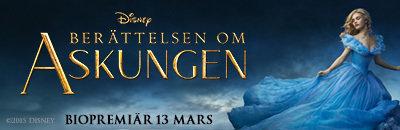 Askungen, Berättelsen om Askungen, Premiär, Bio, Tävling, Fotohella, Blogg, Tips