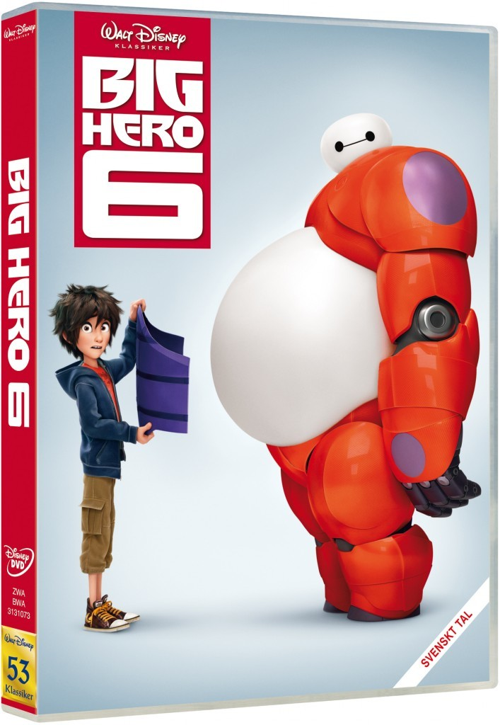 Tävling, Big Hero 6, Blogg, Fotohella, Vinn, Disney, dvd