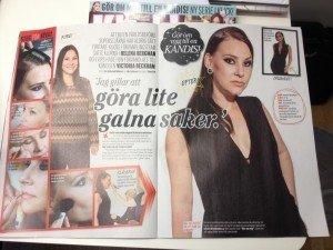 Aftonbladet Klick, Aftonbladet, Bilaga, Blogg, Fotohella, Victoria Beckham, Gör om mig till en kändis, Stylad