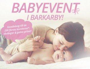 Lekmer.se, Lekmer, Babyevent, 27-28 februari 2016, Barkarby, Lekmers butik, Goodiebag, Erbjudanden, Tävling