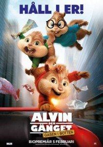 Alvin och gänget: Gasen i botten, Pressvisning, Bio, Premiär, Rigoletto