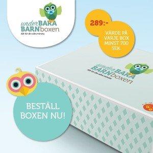UnderBARA BARNboxen, UnderBARA BARN, Nyhet, Tips, Box